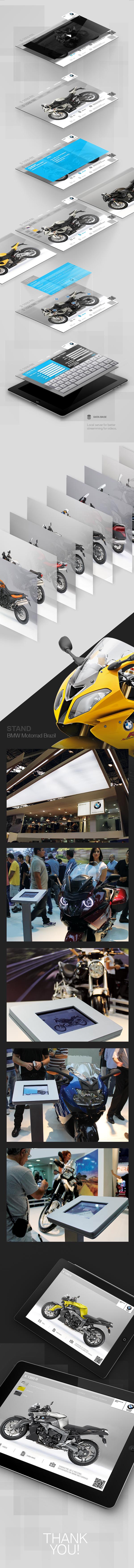 iPad BMW BMW Motorrad toten interface design design app aplicativo mobile motorcycle