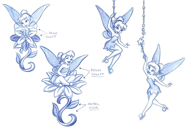 Tinker Bell Style Guide Art Amp Product Designs On Behance