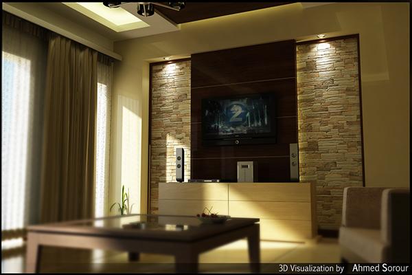 Interior 3dmax vray