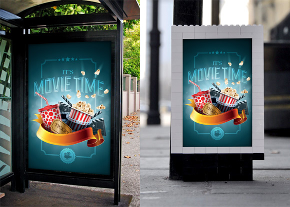 Poster Mockup Templates | Variable Poster Mockup Template On Behance
