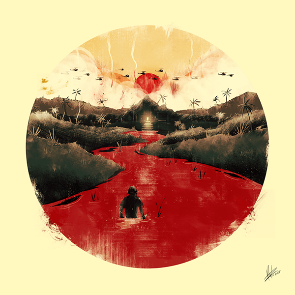 Apocalypse Now / Fan art on Pantone Canvas Gallery