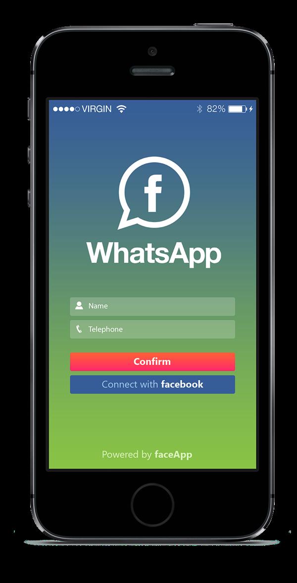 whatsapp facebook messenger redesign concept on behance