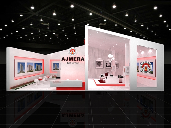 Exhibition Stall Lights : Exhibition stall design on behance