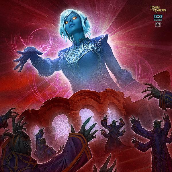 Legends of norrath tcg on behance