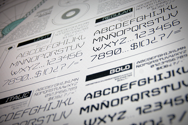VGER Free font Typeface type typography   logans run silent running SOILENT GREEN  student project