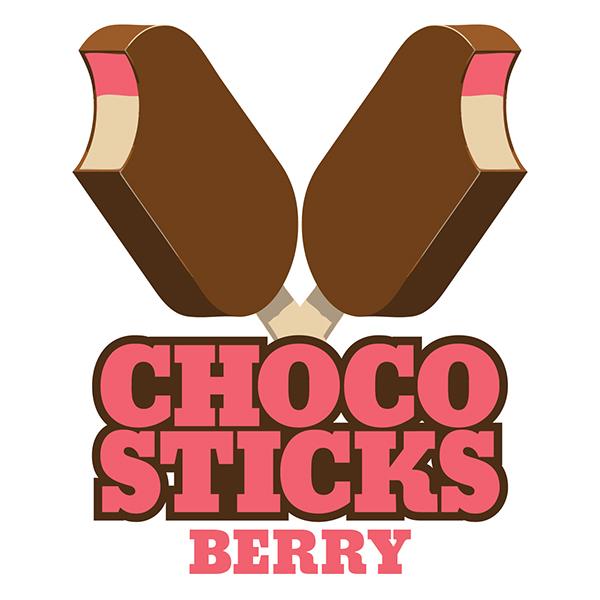 choco sticks logo  illustrations on pantone canvas gallery