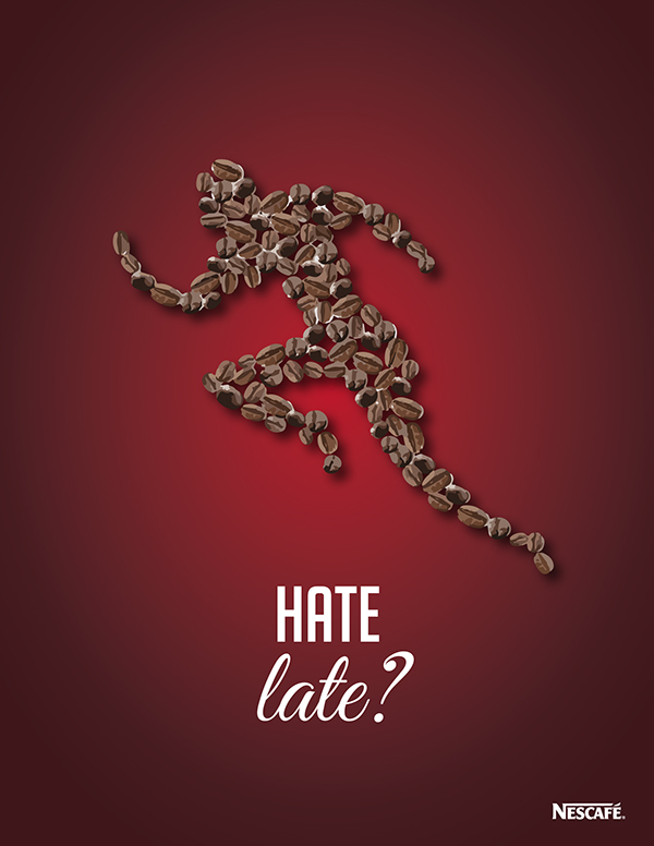 nescafe iced coffee ad campaign on behance