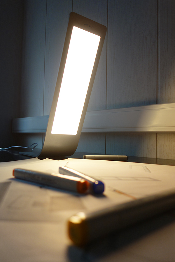 jim oled desk lamp on behance. Black Bedroom Furniture Sets. Home Design Ideas