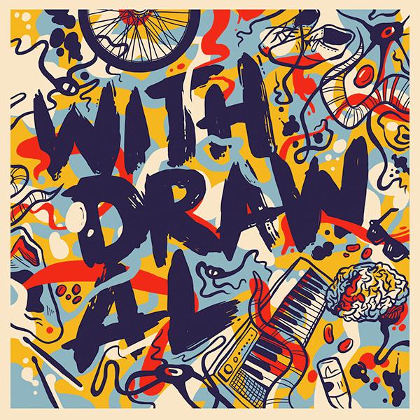 Music Branding design musician colour individual brand identity luke toth