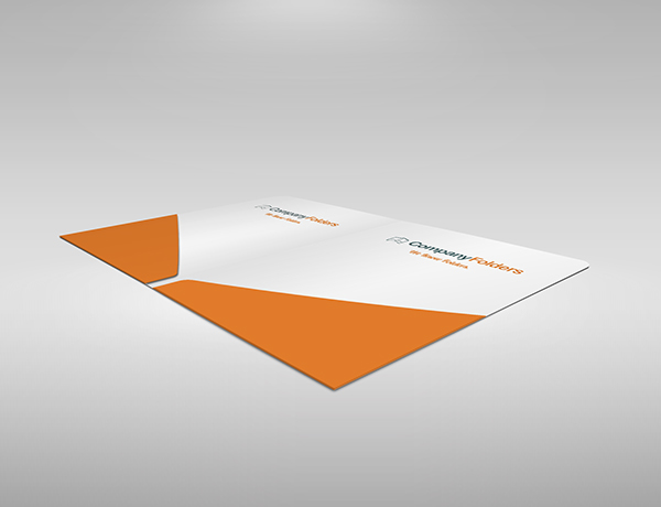 free psd] 2-pocket presentation folder mockup template on behance, Presentation templates