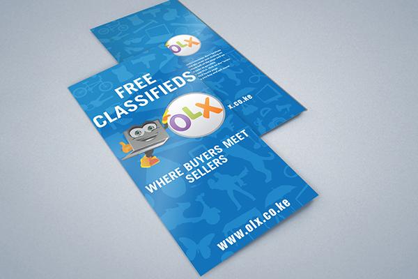 OLX Trifold Brochure on Behance