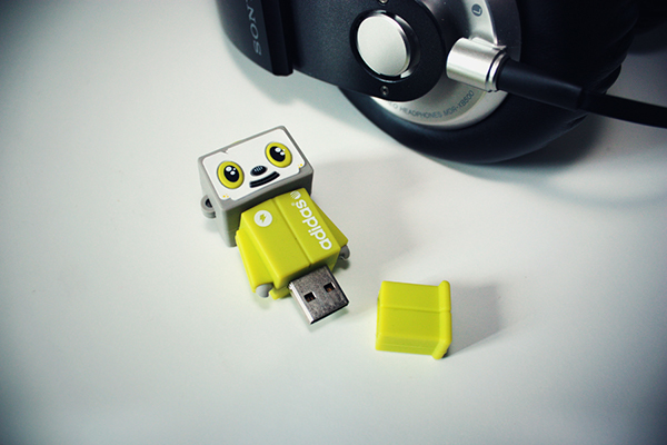 adidas NEO toy usb promo happylucky store product robot bot jthree concepts j3concepts jared nickerson