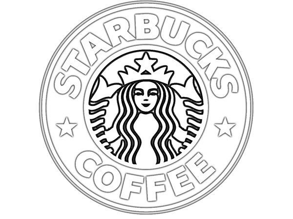 Influential image inside printable starbucks logo