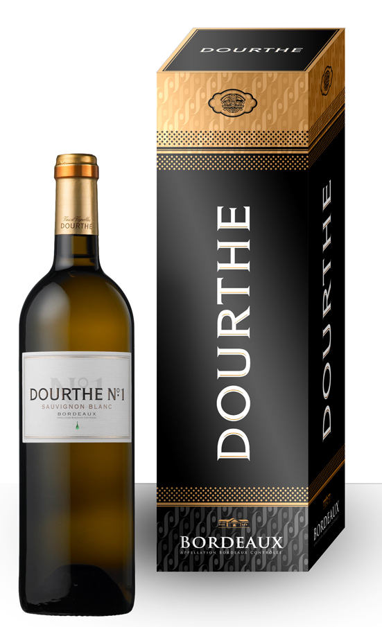 Dourthe wine gift boxes on Behance