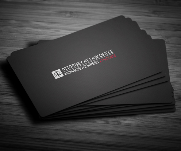 Creative lawyer business card 2 on behance creative and clean lawyer business card in 5 color set editable text layers or colors shape layers in easy way reheart Choice Image