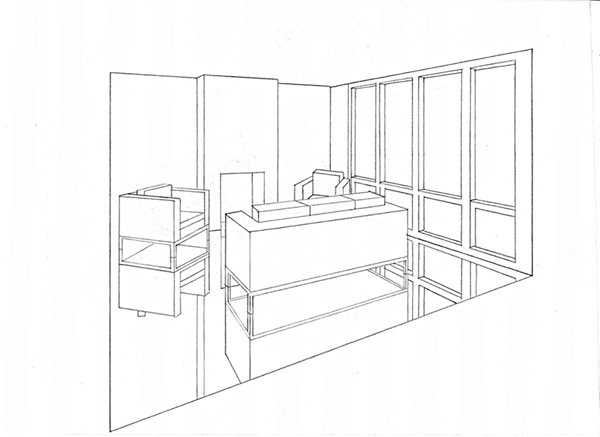 Perspective Drawings On Behance