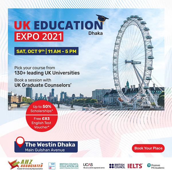 UK Education Expo 2021- Dhaka