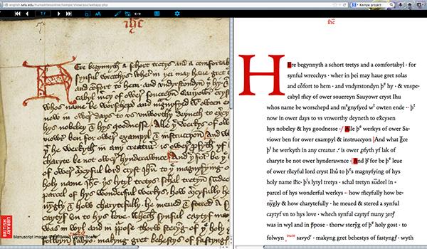andron medieval studies Kempe Project MENOTA webfont