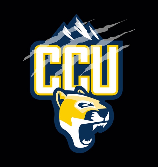 Colorado Christian University Athletic Logo on Student Show