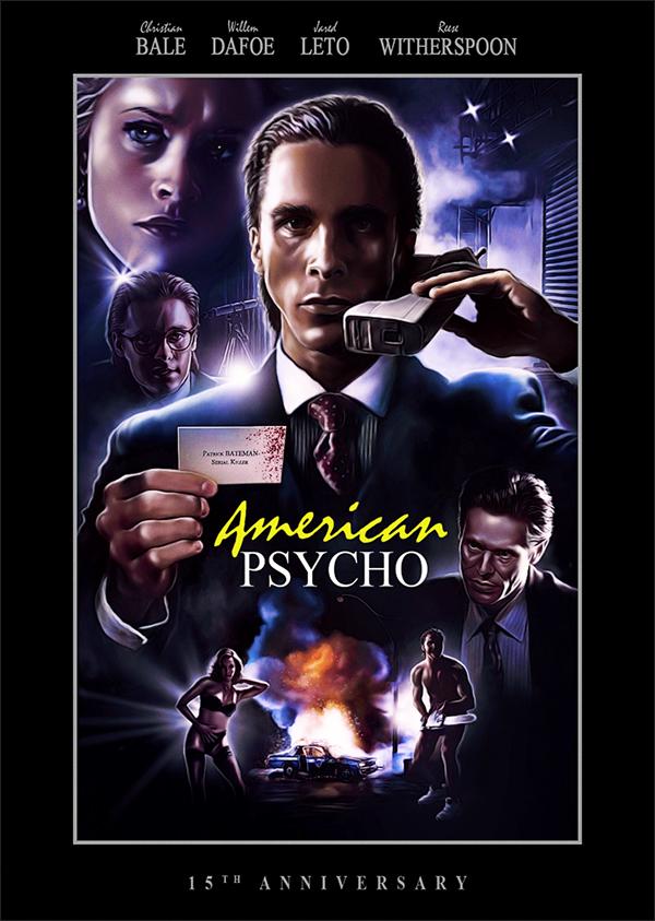 плащ кино американский психопат постеры особенно интересовалась моделингом