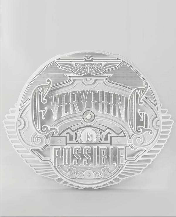 Aston Martin Magazine 3D Printing