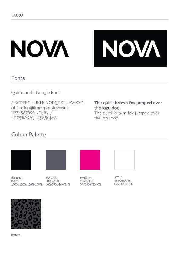Nova - Final Basic Identity Guidelines