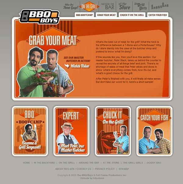 bbq boys flash animation Logo Design