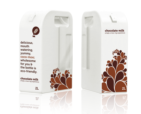 gotta moo milk packaging on behance