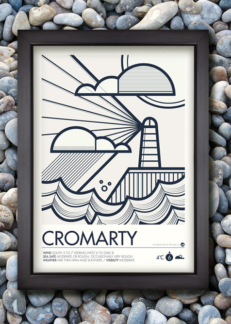 Shipping Forecast Prints on Behance