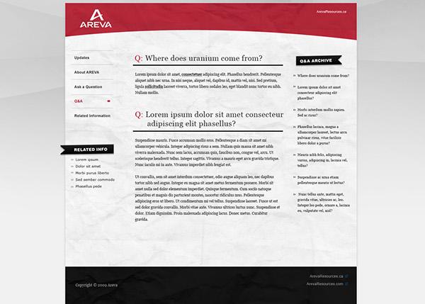 Areva zu communications