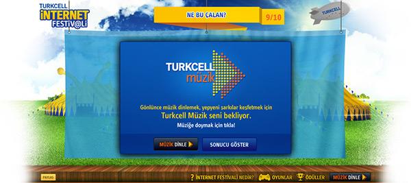 Turkcell,internet festivali