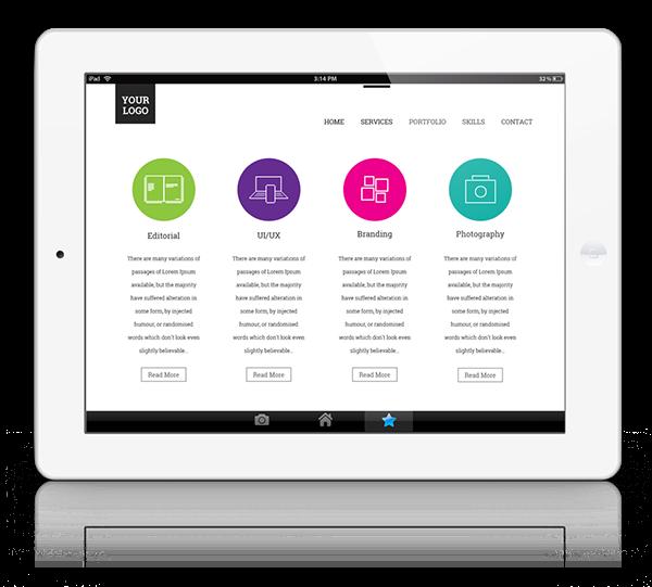 horizontal e resume free psd on behance