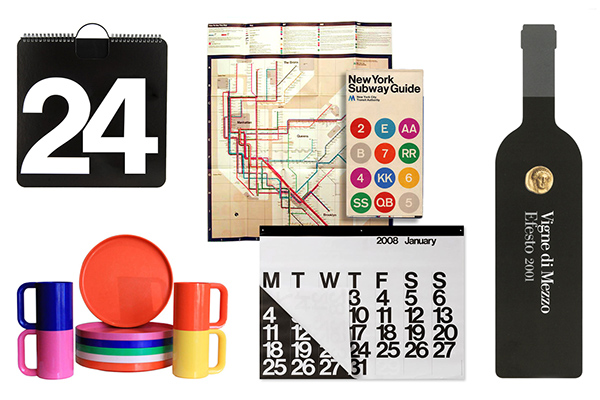 Timeless massimo vignelli tribute poster exhibition on for International decor spain
