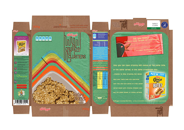 Cereal Packaging on Behance