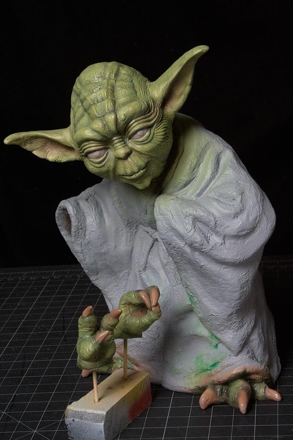 Wip Quot Yoda Quot Screamin On Behance