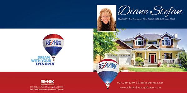 RE/MAX real estate brandind
