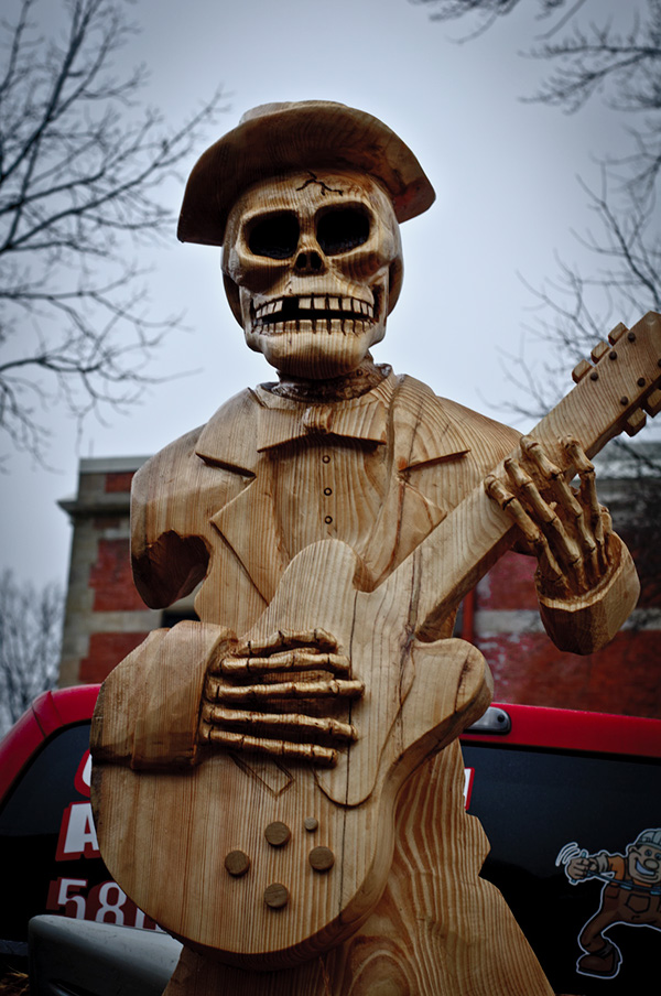 Th annual ridgway chainsaw carvers rendezvous on behance