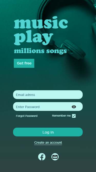 UI ux product design  uı ux desıgn app application Mobile app mobile music music app