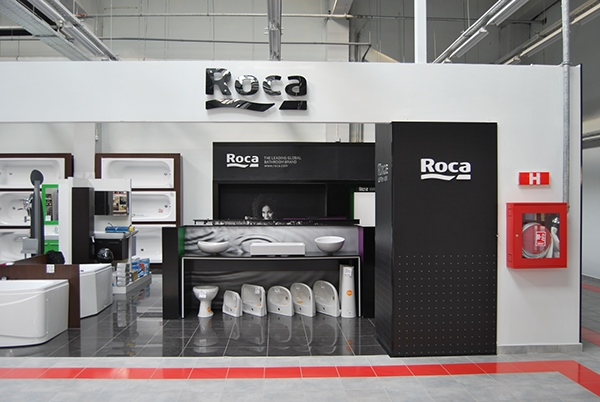 Roca nfg showroom bucharest on behance for Roca showroom