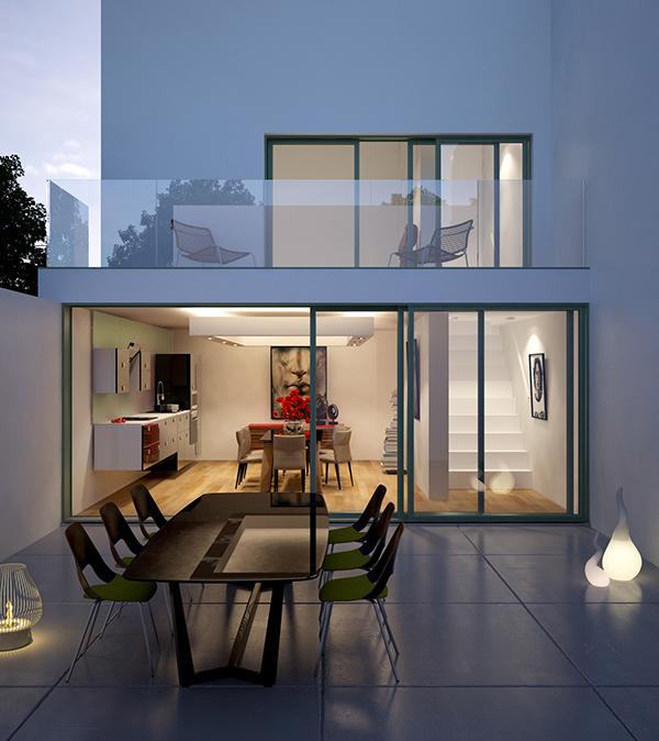 night terrasse on behance