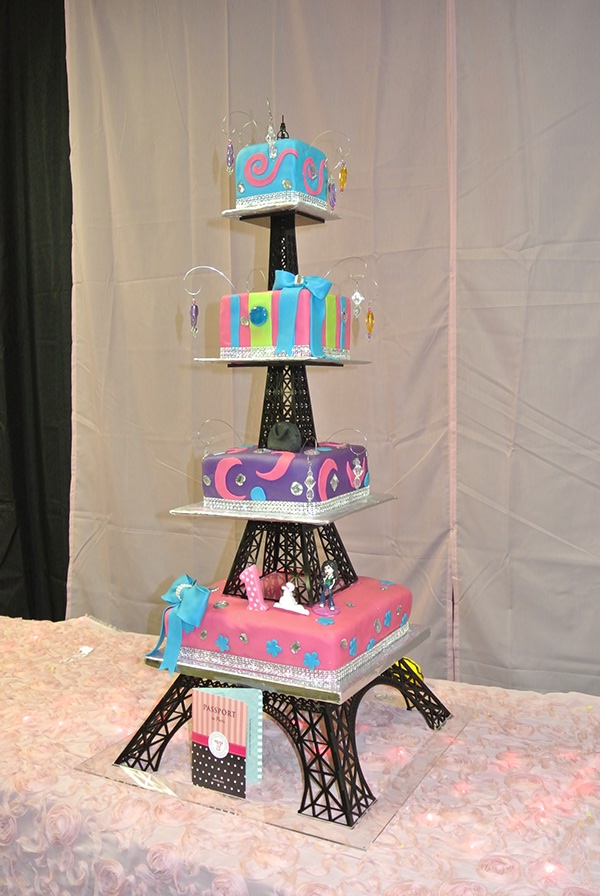 Eiffel Tower Cake Stand For Sale