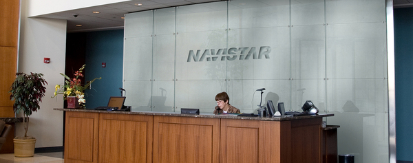 Navistar HQ Signage on Behance