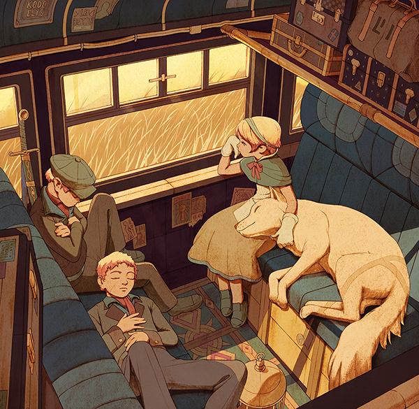 Railroad by Kevin Hong