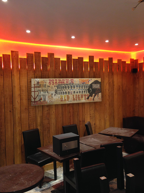 Déco pour restaurant on Behance