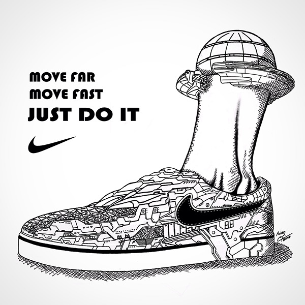c15c47b89 Poster Design For Nike on Wacom Gallery