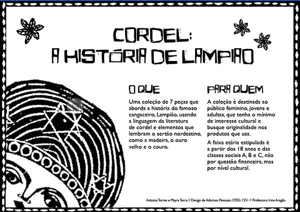Cordel A Historia De Lampiao On Behance