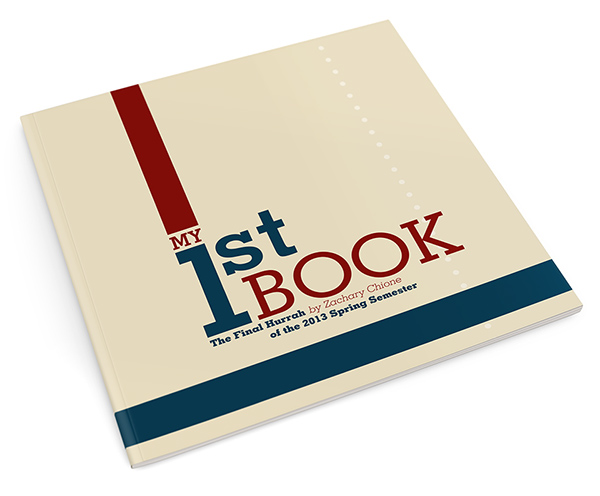 my first  graphic design  book on behance
