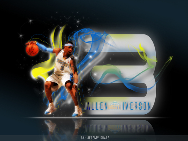 Allen Iverson Wallpaper Aka Ai On Behance