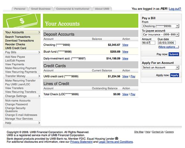 umb.com banking online