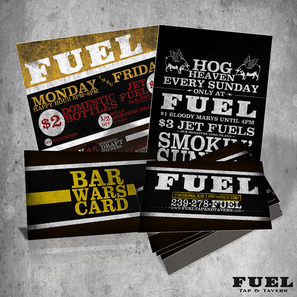 FUEL Tap & Tavern / Truck Daddy's Back Alley Grill On Behance